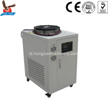 1hp 2.8kw mini glikol chiller berpendingin udara